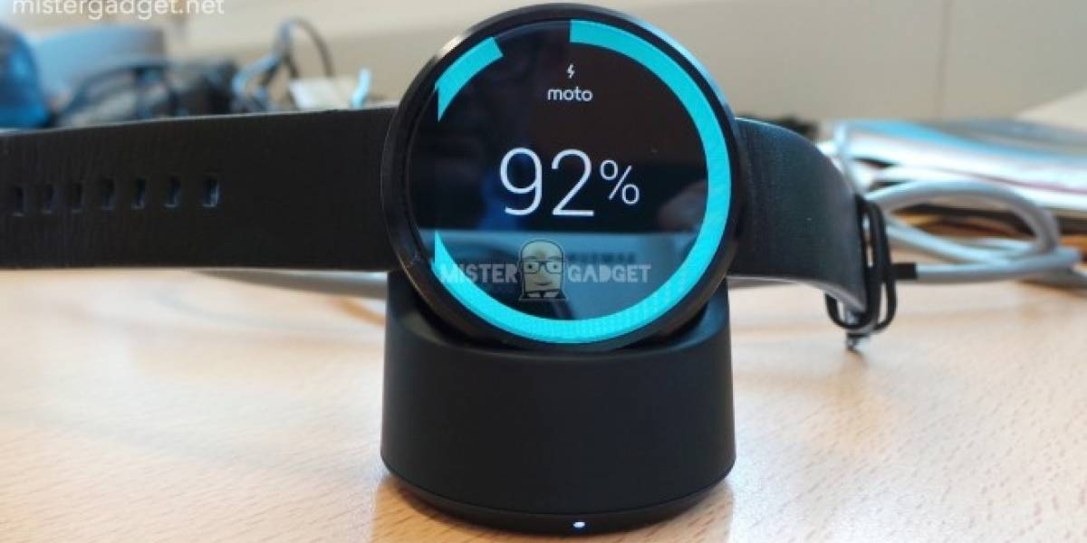 Motorola Moto 360 tendría carga inalámbrica, resistencia al agua y sensor cardíaco