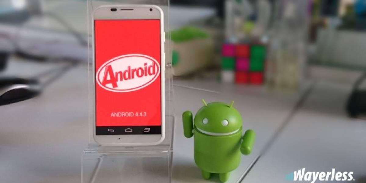 Android 4.4.4 KitKat comienza a llegar al Motorola Moto G, X y E