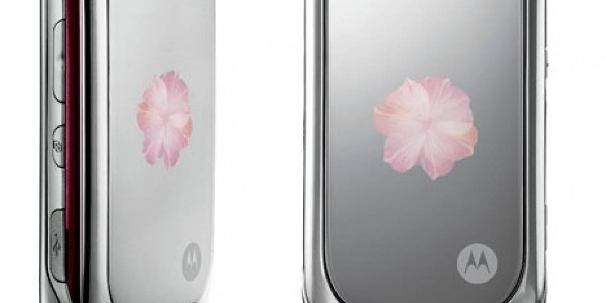 Motorola PEBL Rose Bloom: En vez de regalar una flor