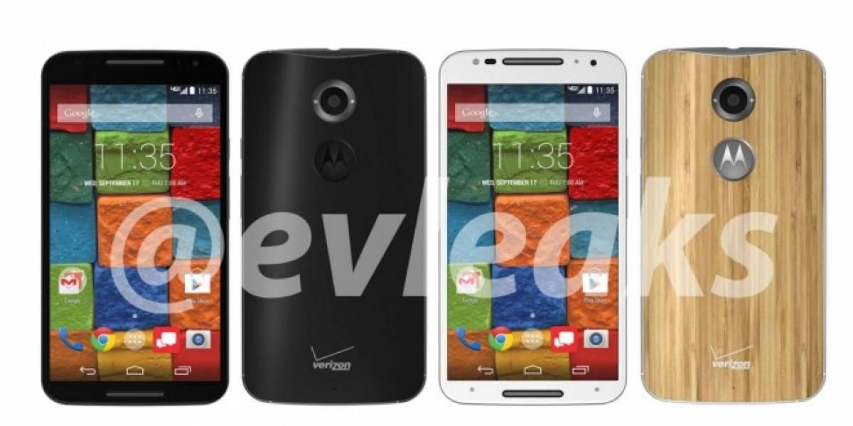 Evleaks se despide filtrando supuestas imágenes del Motorola Moto X+1