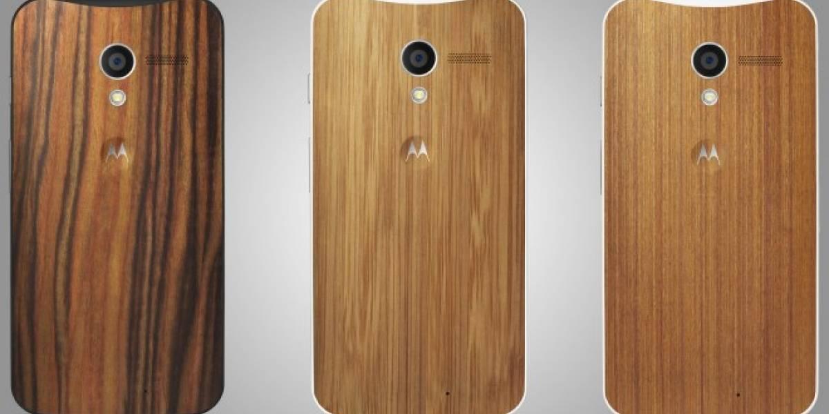Motorola trae a Chile el Moto X de bambú y madera