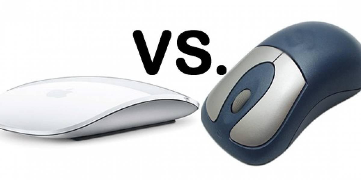 Los botones son mejores que el multitouch, según Microsoft