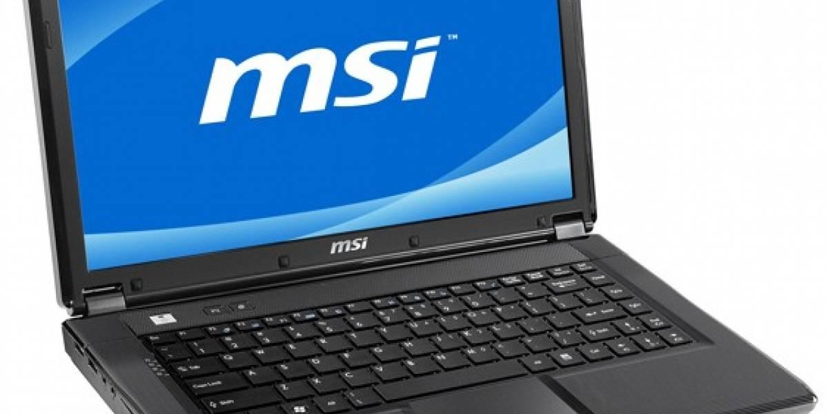 MSI EX465MX: Nuevo laptop con chipset SiS