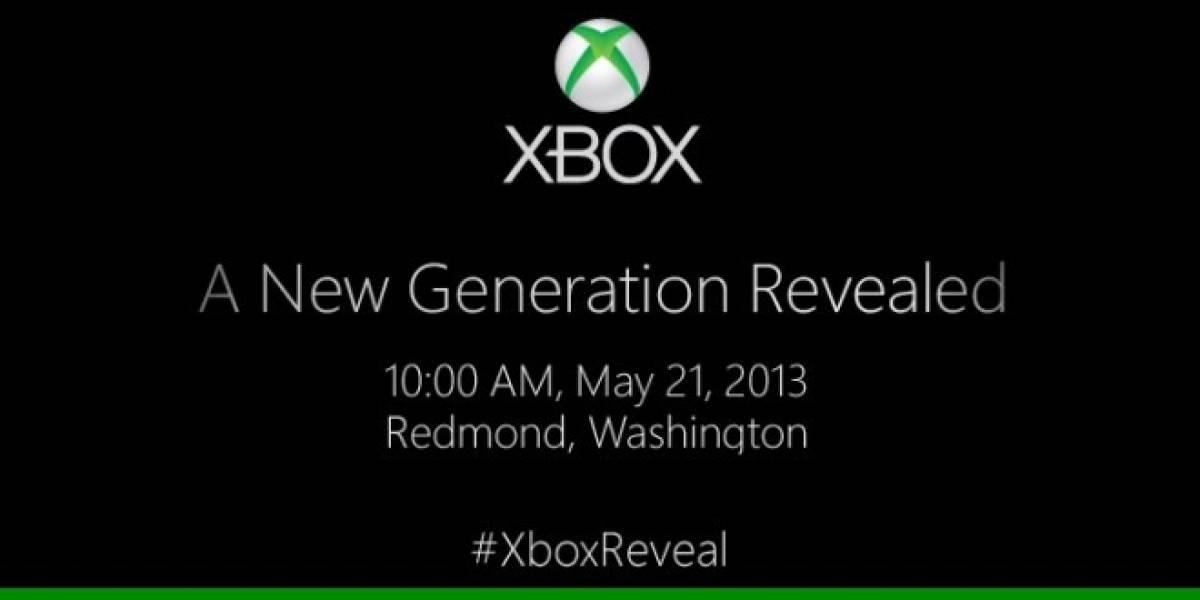 La nueva Xbox se anunciará el próximo 21 de mayo