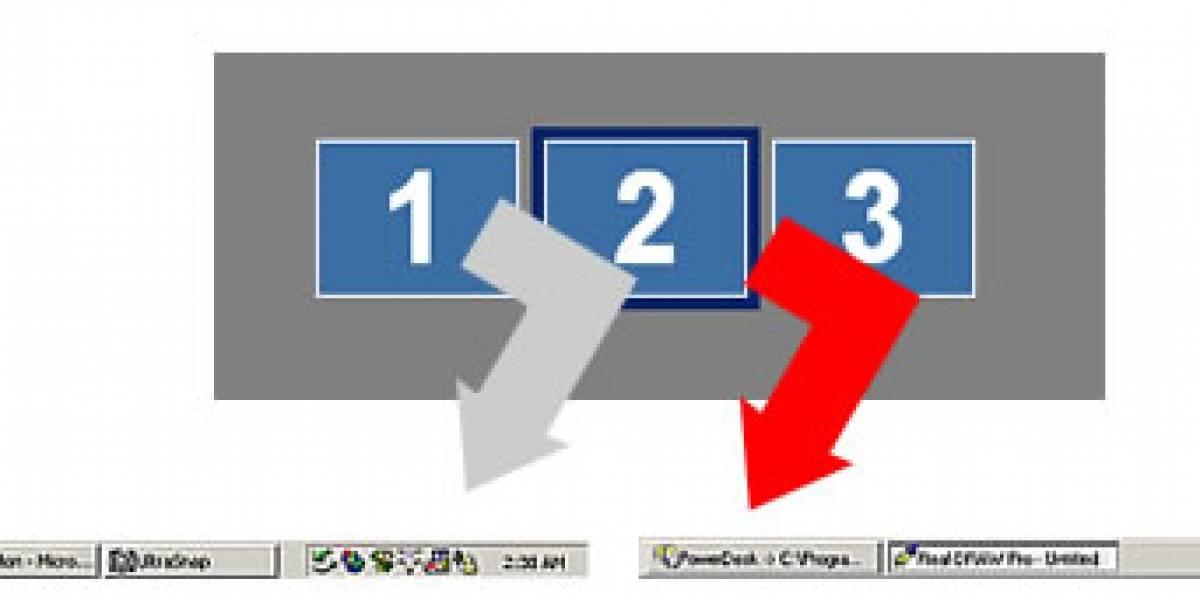 MultiMonitor: Haz que la barra de tareas se extienda a tus monitores