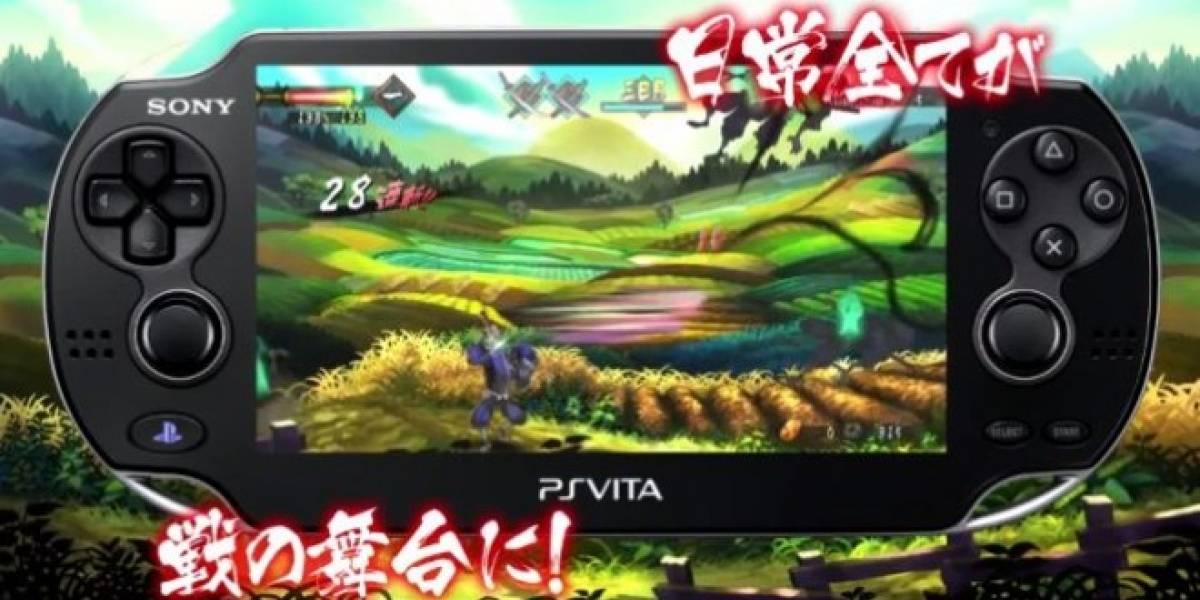 Oboro Muramasa para PS Vita tiene nuevo tráiler en japonés