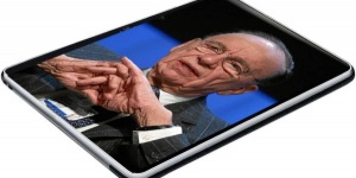 Rupert Murdoch planea lanzar diario digital para tablets