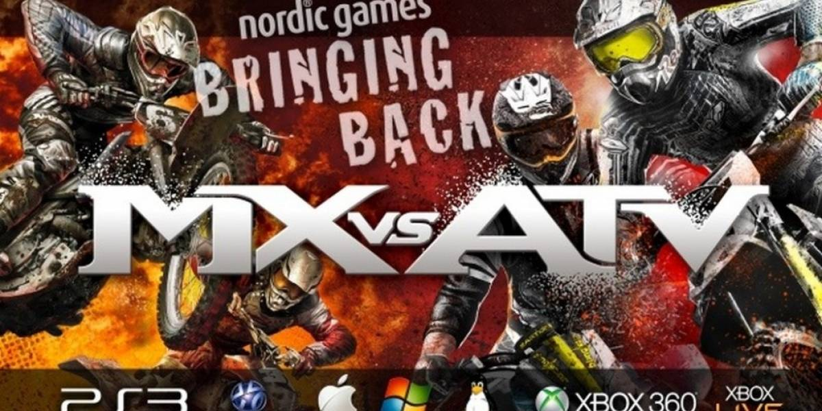MX vs ATV revive gracias a Nordic Games