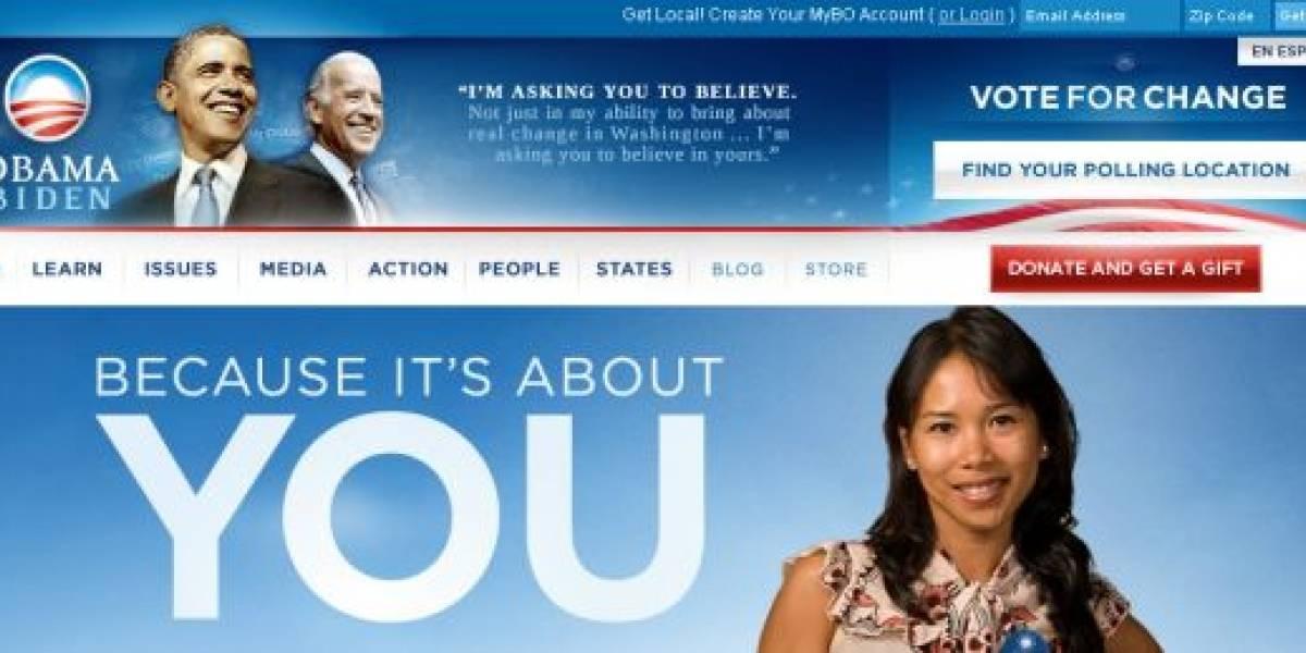 Obama se apoya en Internet y Bases de Datos para llegar a los votantes