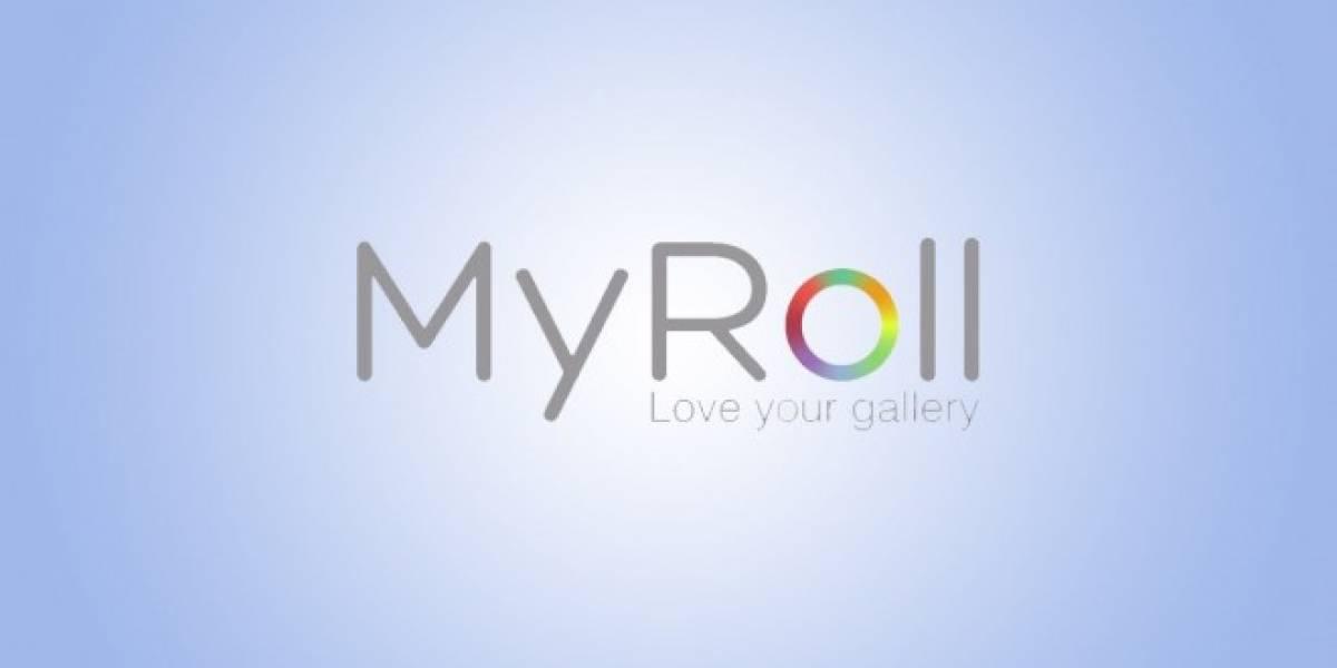Organiza tus fotos de manera inteligente con MyRoll [App del día]