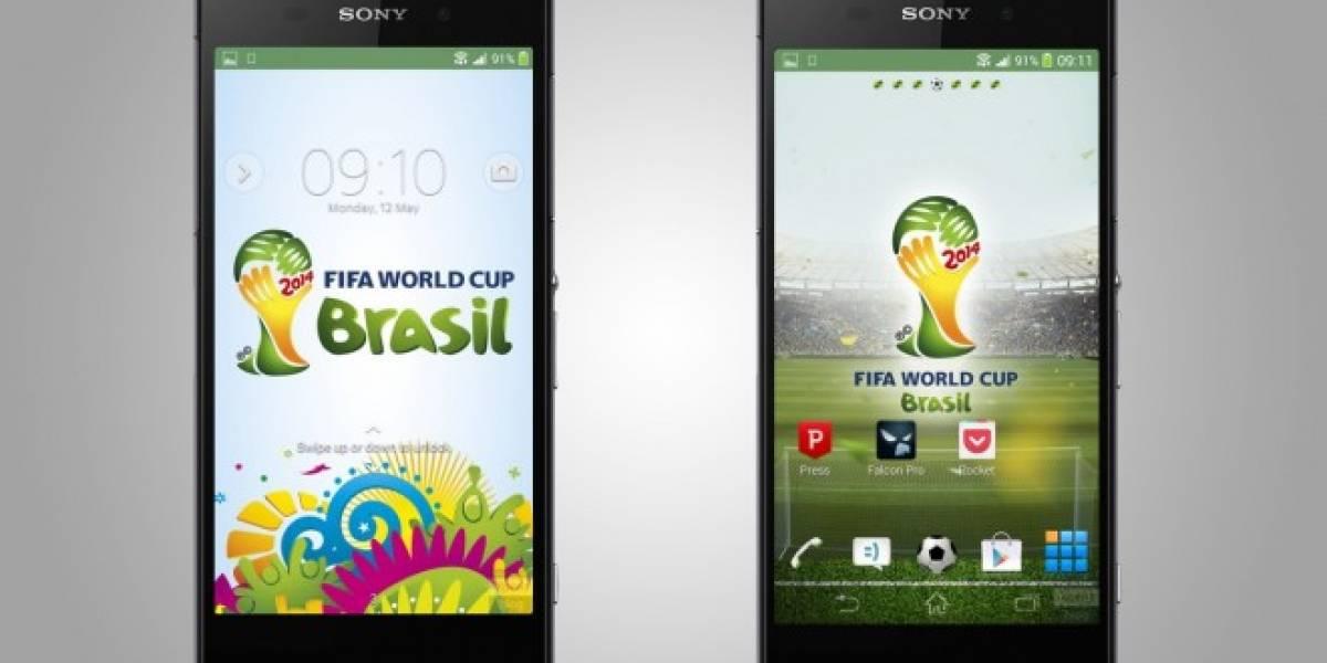 Se filtra el tema oficial de la Copa Mundial FIFA Brasil 2014 para los Sony Xperia