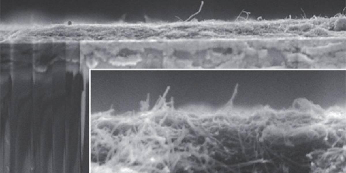 Nanotubos de carbono aumentan rendimiento de baterías de litio
