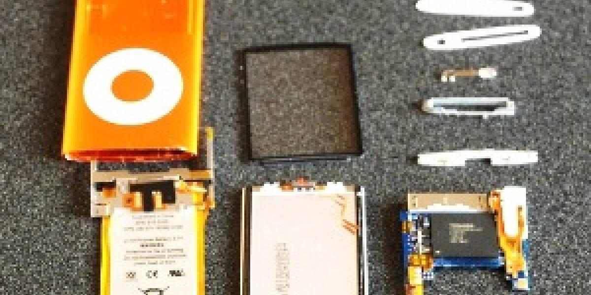 iPod nano al desnudo