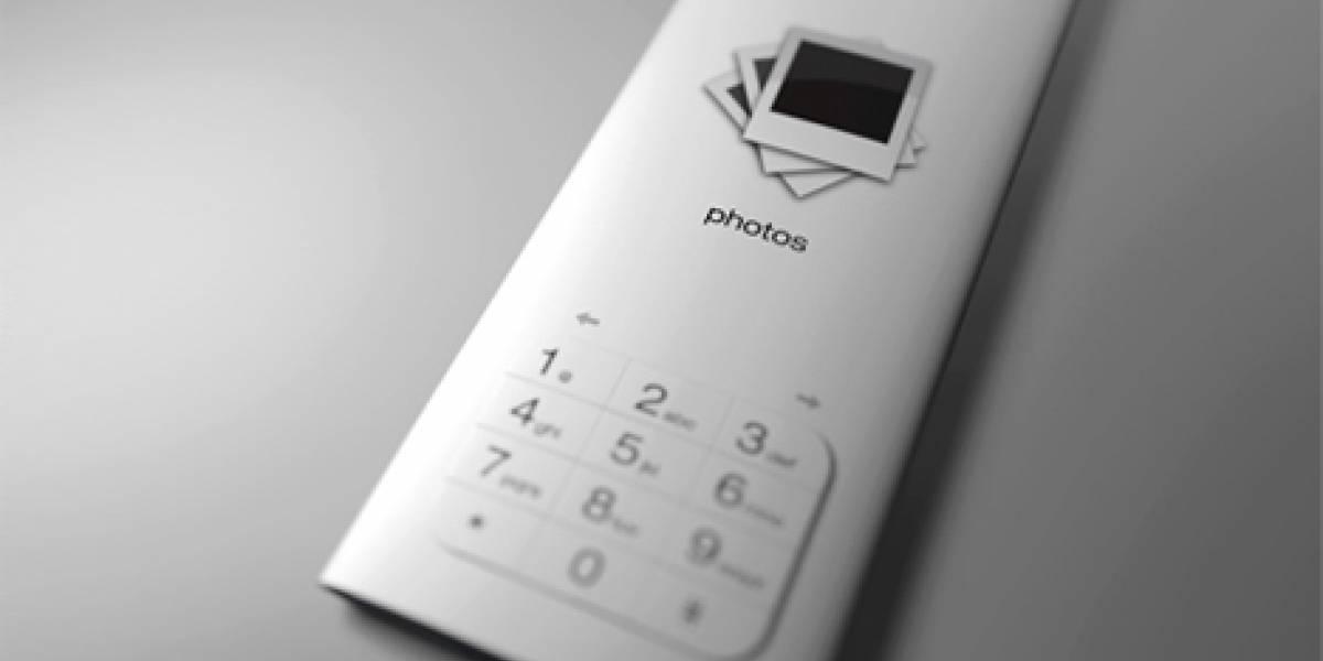 Concepto: Cruza de un Nseries con un iPod nano