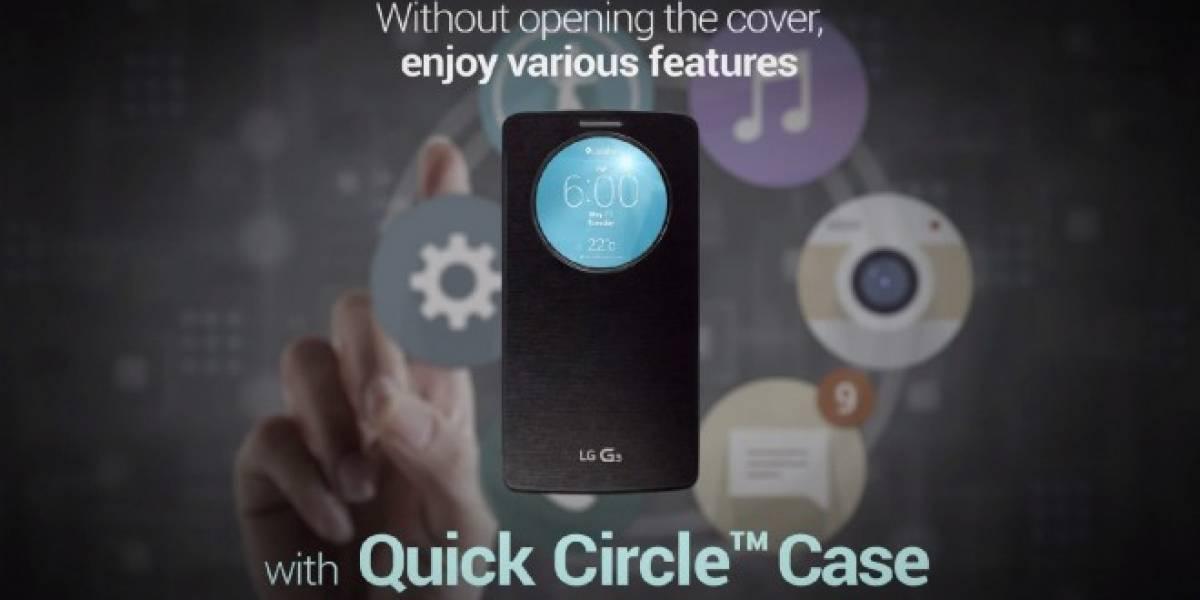 QuickCircle Case es la nueva funda oficial del LG G3