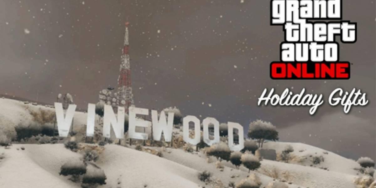La Navidad llega a Grand Theft Auto Online