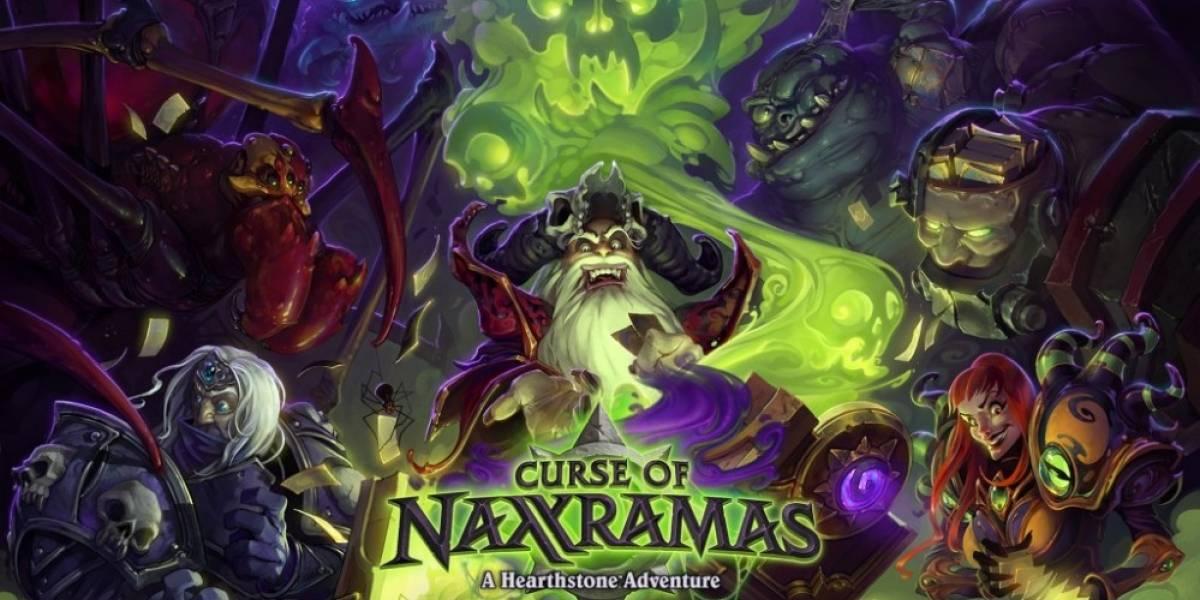 HearthStone recibirá su primera expansión: Curse of Naxxramas