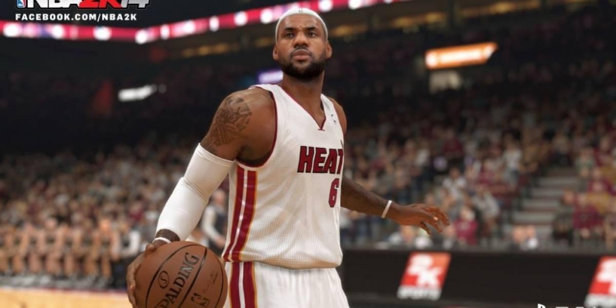 2K Sports muestra la primera imagen de NBA 2K14 en PlayStation 4