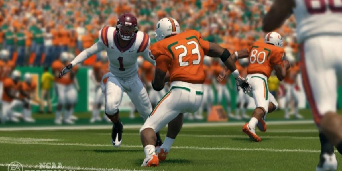 EA: seguiremos haciendo juegos de fútbol americano universitario, aun sin la NCAA
