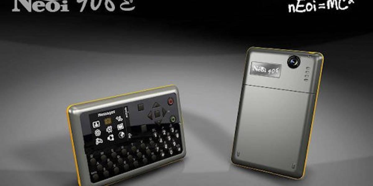 Neoi 906E: El móvil con QWERTY más delgado del mundo