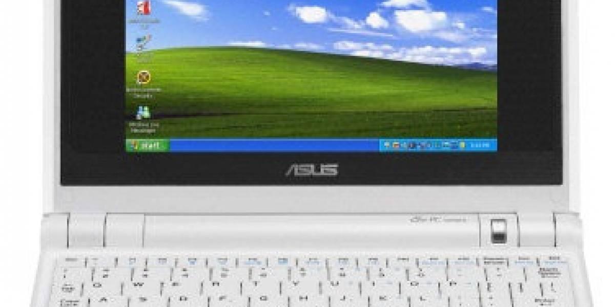 90 por ciento de los subnotebooks usan Windows XP
