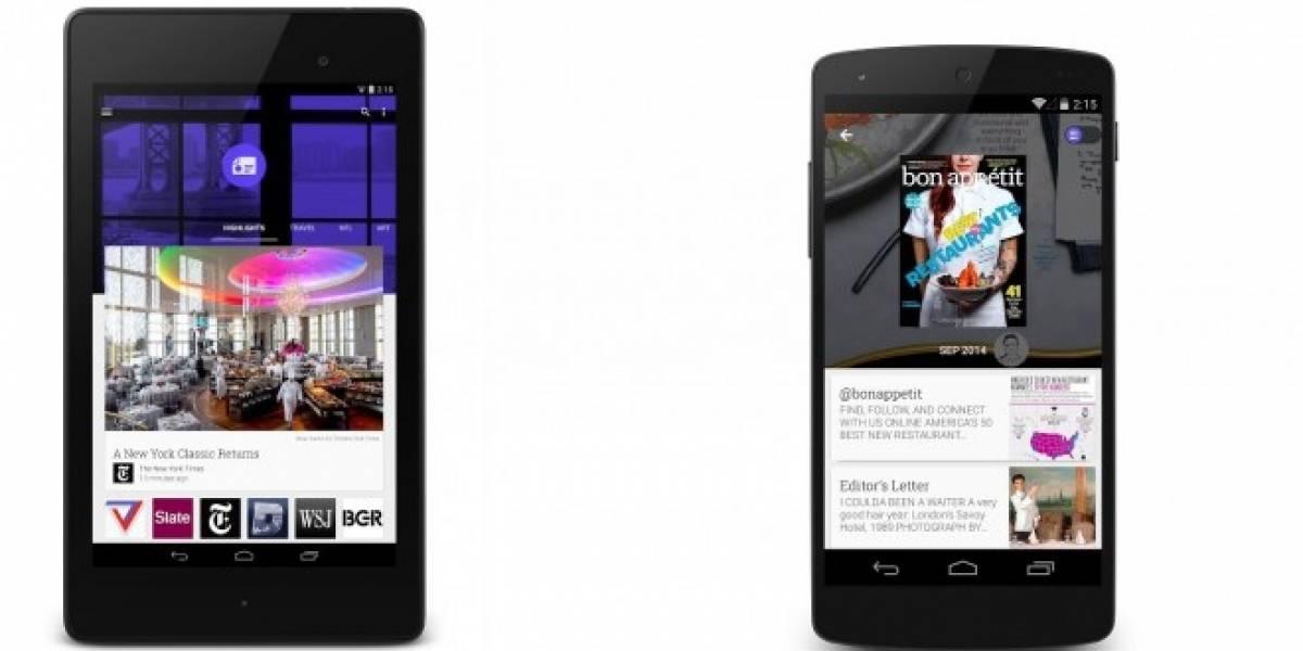 Google rediseña Kiosco para Android con Material Design