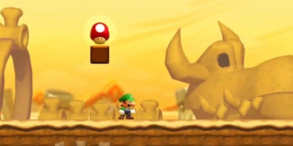 Nintendo anuncia New Super Luigi U, una gran expansión de New Super Mario Bros. U
