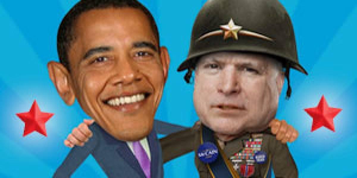 Obama le gana a McCain... en Internet