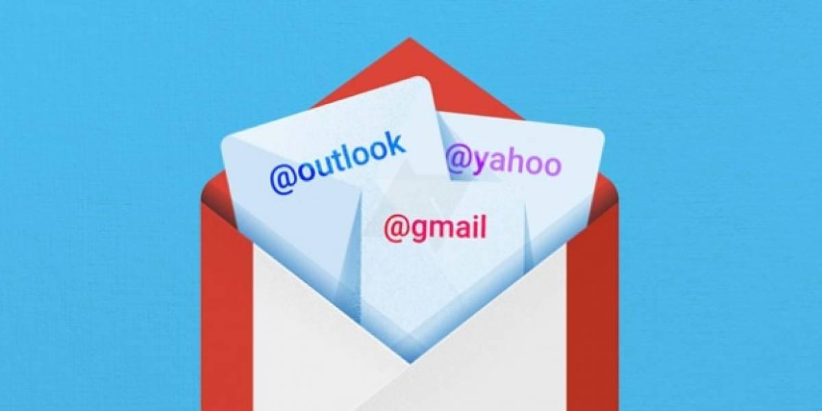 Google muestra cómo será Gmail 5.0 para Android
