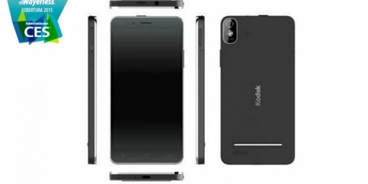 KODAK IM5: el nuevo smartphone de Kodak con cámara de 13MP #CES2015