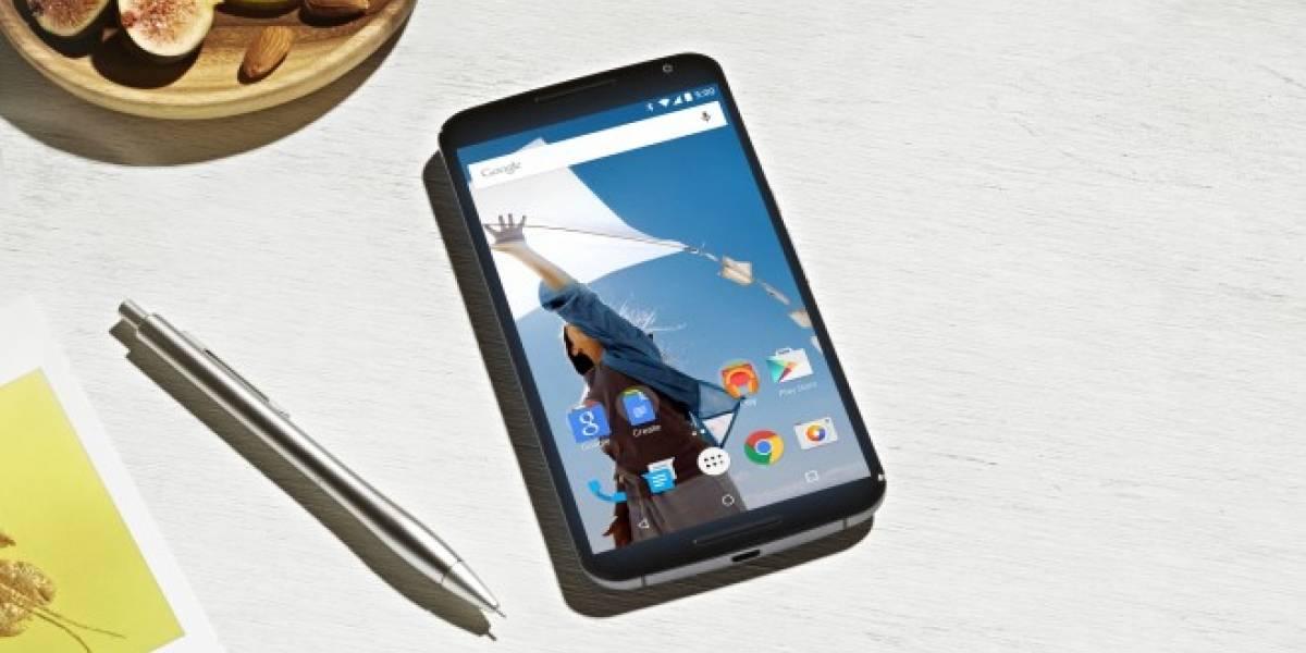 Nexus 6 pudo tener lector de huellas