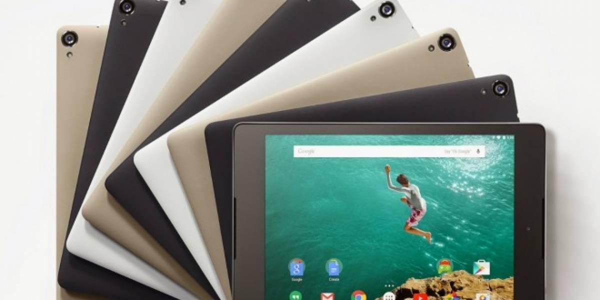 Nexus 9 ahora disponible en Play Store