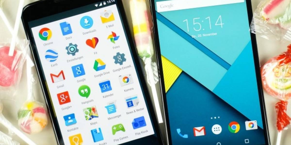 Primera actualización de Android Lollipop llega a AOSP y Nexus