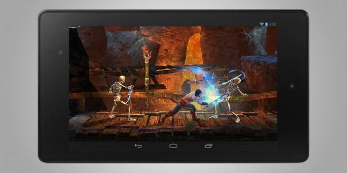 Google presenta la Nexus 7 y sus prestaciones para juegos