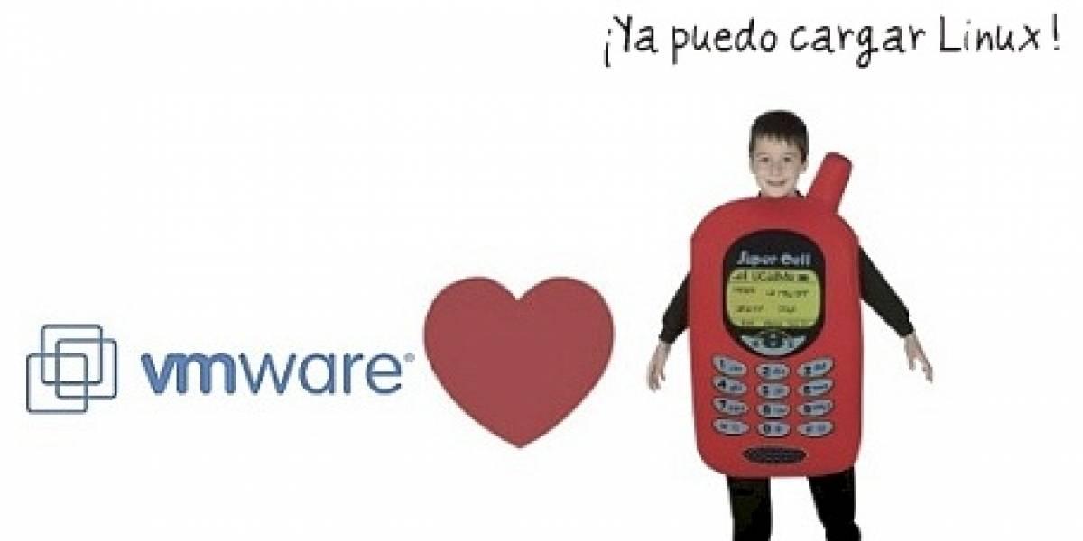 Dos sistemas operativos en tu móvil, cortesía de VMware