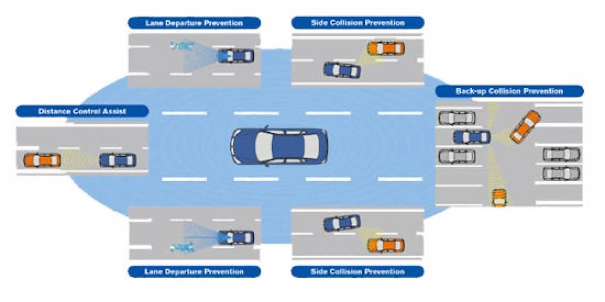 Nissan reducirá las colisiones vehiculares