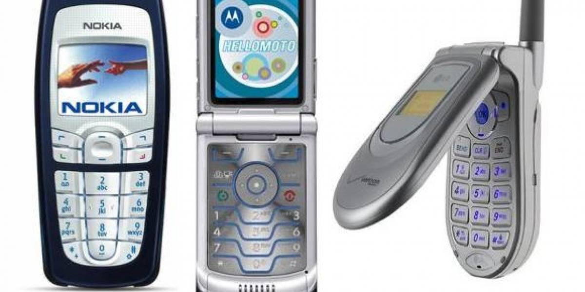Los teléfonos más reciclados el 2008
