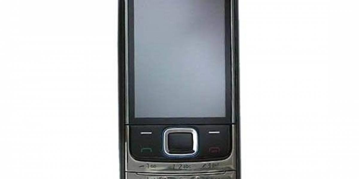 Nokia 6208 Classic: Pantalla táctil y teclado alfanumérico