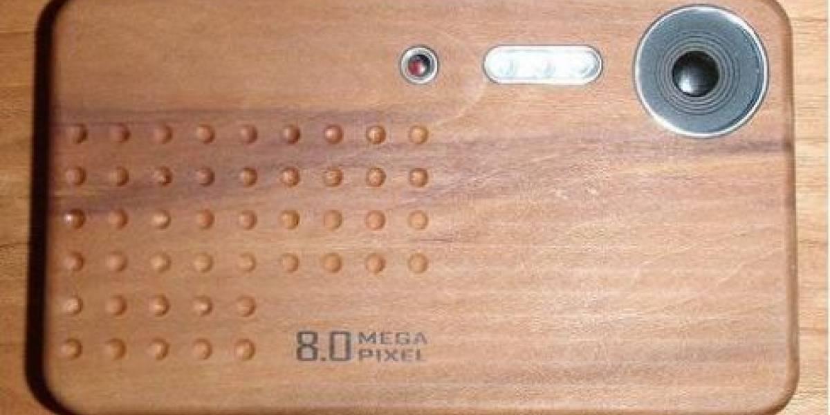 Futurología: Teléfono Nokia hecho de madera