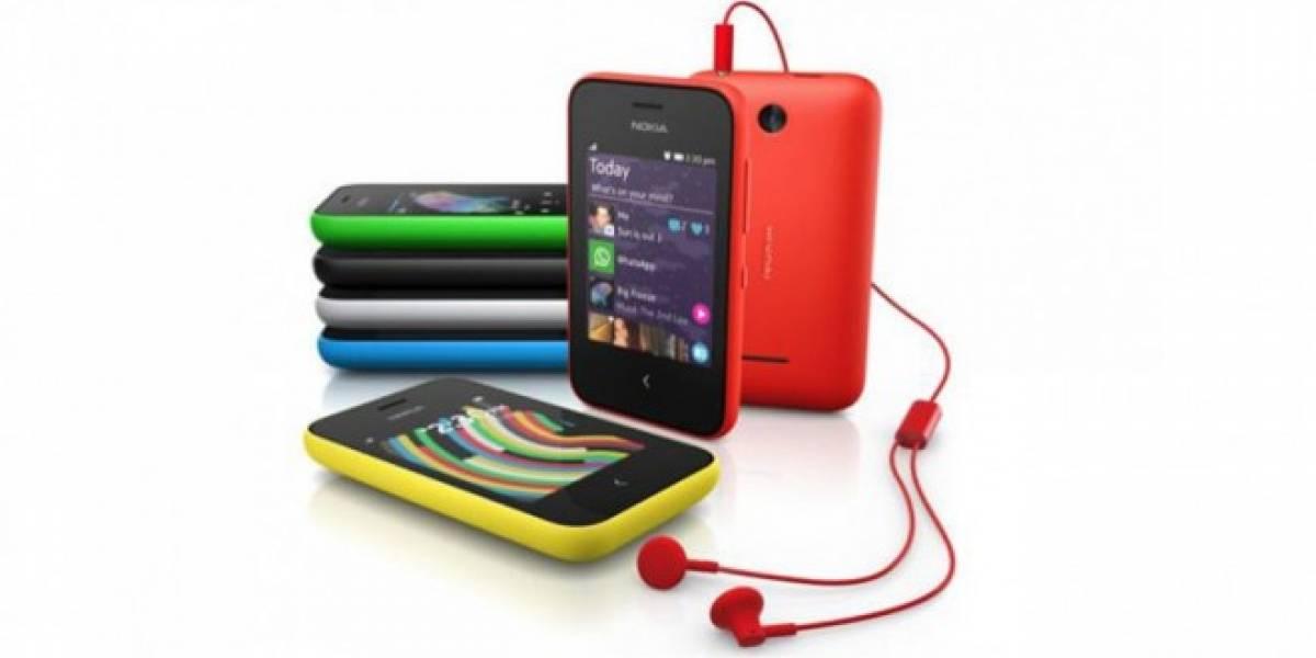Nokia presentó el Asha 230 común y Dual SIM en el #MWC14