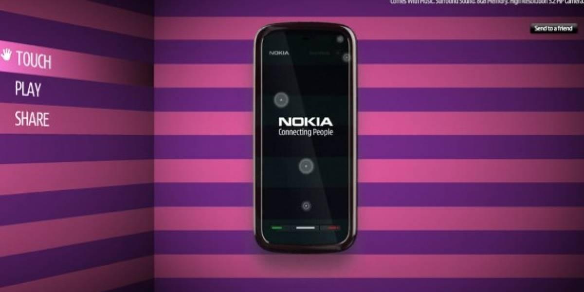 Juega ya con el Nokia 5800 XpressMusic