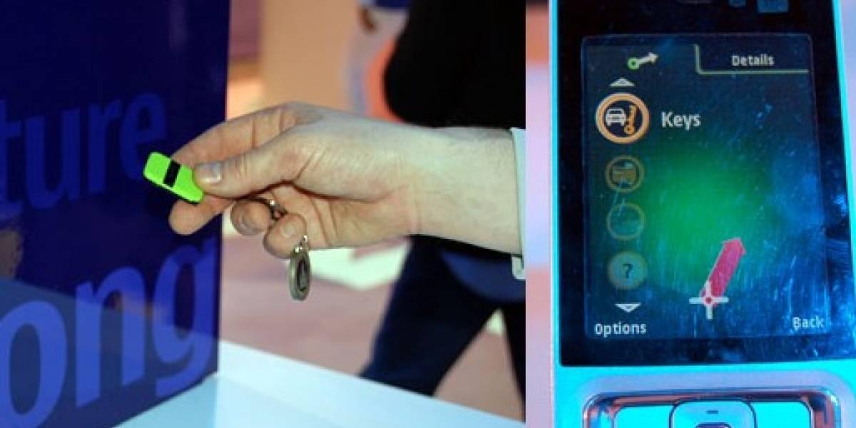 CES09: Nokia te ayuda a encontrar las llaves