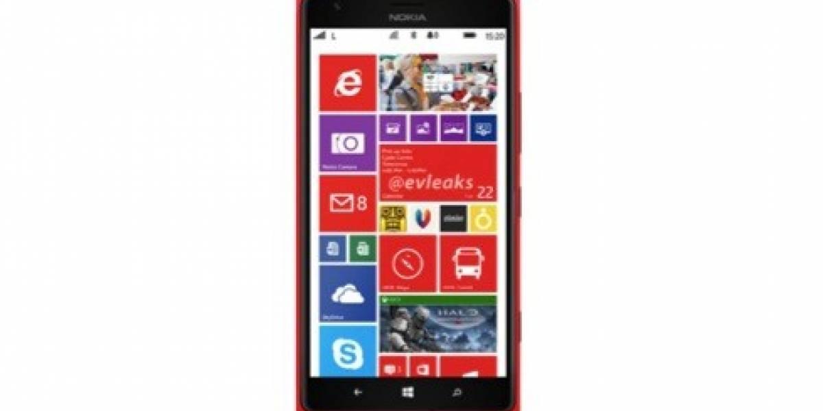Más filtraciones de Nokia. Ahora es la Lumia 1520 en rojo