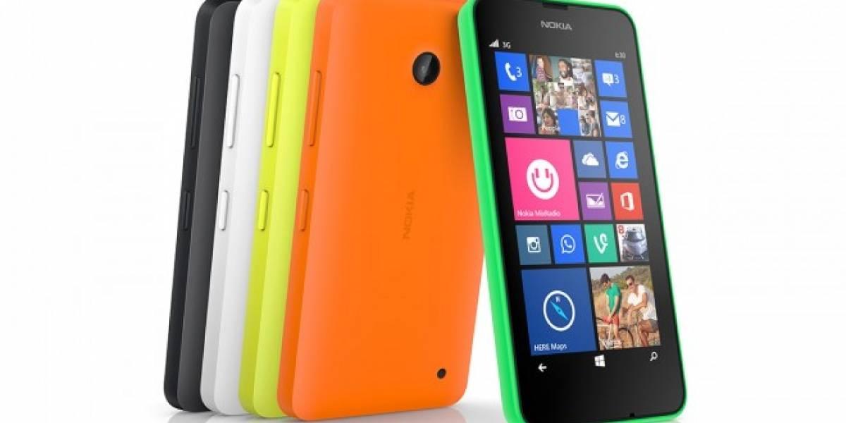 Nokia lanza los nuevos Lumia 630 y 635