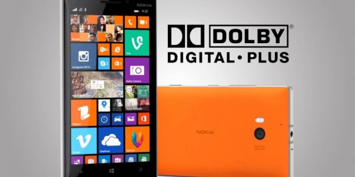 Nokia Lumia 930, primero en grabar video con audio Dolby Digital Plus 5.1