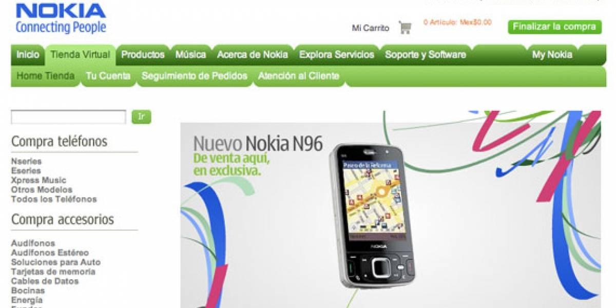 Nokia lanza tienda en línea mexicana