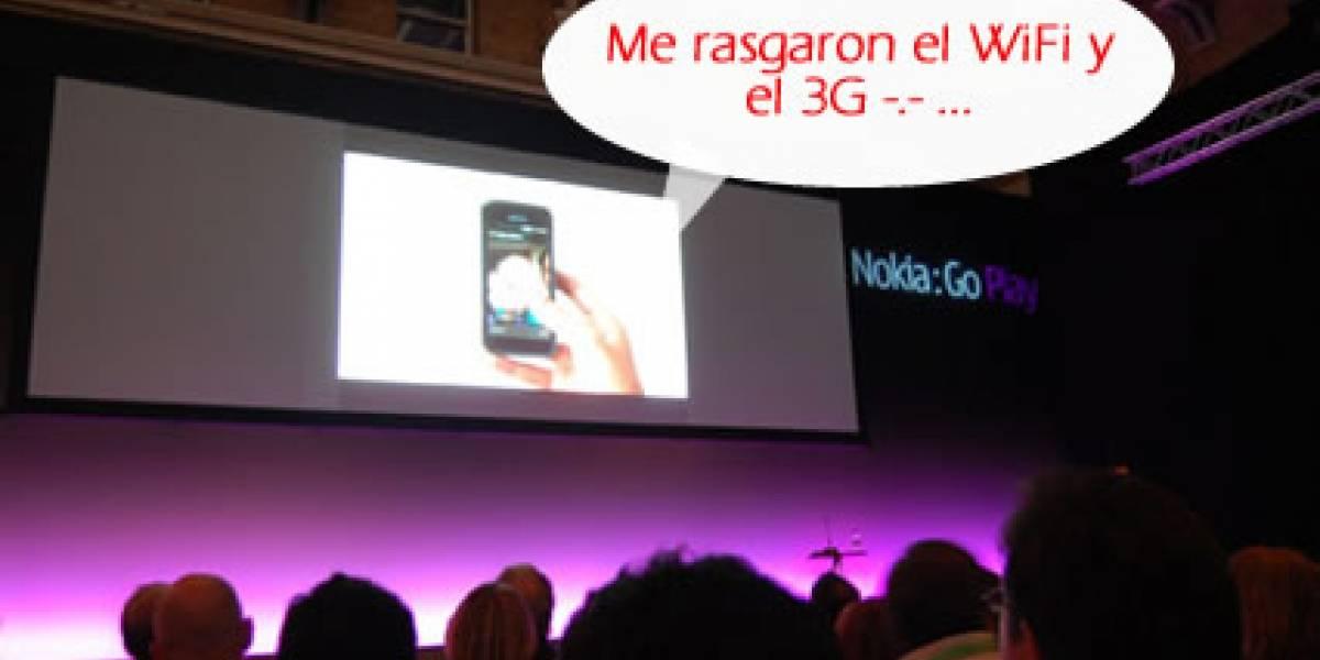Nokia 5800 Xpress Music sin 3G ni Wi-Fi en China