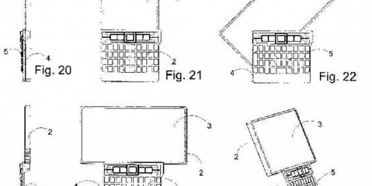 Nokia patenta un llamativo diseño de pantalla rotativa