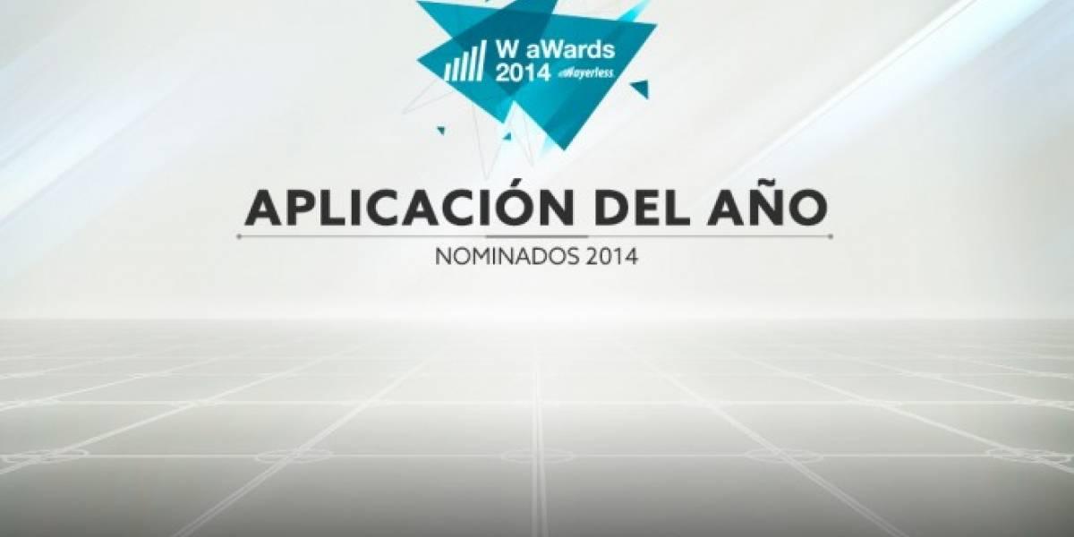 Vota por la Mejor Aplicación del 2014 [W aWards]