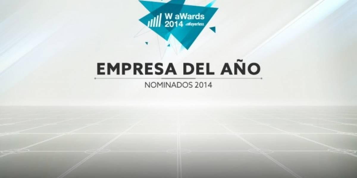 Vota por la Mejor Empresa del 2014 [W aWards]